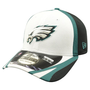 NFL New Era 39Thirty Philadelphia Eagles 2014 Official Training Flex Fit M/L
