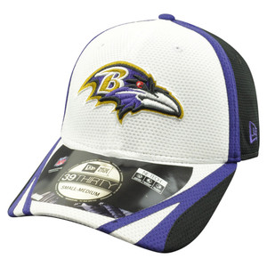 NFL New Era 39Thirty Baltimore Ravens 2014 Official Field Training Flex Fit S/M