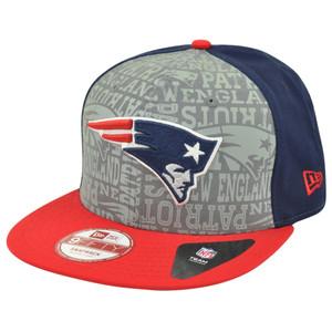 NFL New Era 9Fifty 950 2014 Reflective New England Patriots Snapback Hat Cap