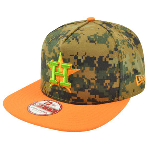 MLB New Era 9Fifty 950 A Frame Houston Astros Digital Camo Snapback Hat Cap