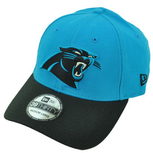 NFL New Era 39Thirty 3930 Carolina Panthers TD Classic Flex Fit M/L Hat Cap