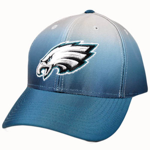 NFL Philadelphia Eagles Multi Team Colors Curved Bill Hat Cap Velcro Construct