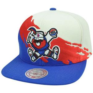NBA Mitchell & Ness NG77Z Paintbrush Wool Snapback Hat Cap Denver Nuggets