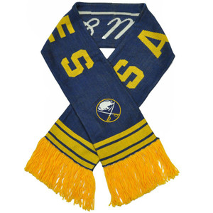 NHL Mitchell & Ness S109 Scarf Scarves Throwback Logo Vintage Buffalo Sabres