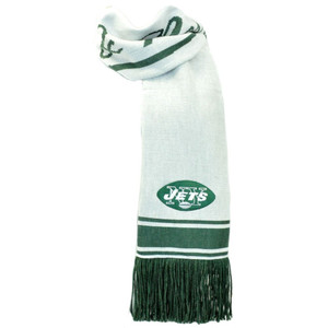 NFL Mitchell & Ness S108 Scarf Scarves Throwback Logo Vintage New York Jets