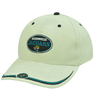 NFL JACKSONVILLE JAGUARS KHAKI STONE COTTON HAT CAP