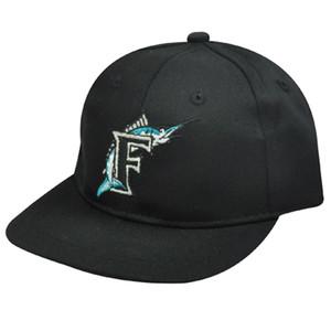 MLB FLORIDA MARLINS BLACK COTTON INFANT KIDS CAP HAT