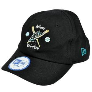 MLB Florida Marlins Future All Star Youth Toddler Baby Boy Stretch Black Hat Cap