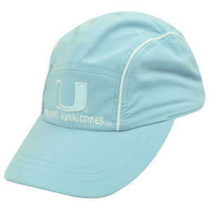 NCAA MIAMI HURRICANES BLUE TODDLER KIDS CAP HAT ADJ NEW