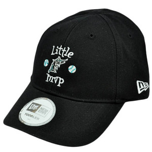 MLB Florida Marlins Little MVP Youth Toddler Baby Boy Black Stretch Band Hat Cap