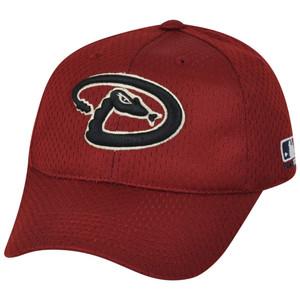 MLB Arizona Diamondbacks MLB375 Mesh Stretch Fit Youth Red Teen Boys Hat Cap