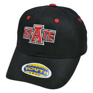 NCAA Top of World Arkansas State Red Wolves One Size Flex Fit Youth Kids Hat Cap