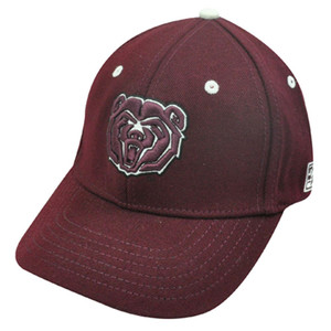 HAT CAP YOUTH KIDS SOUTHWEST MISSOURI STATE BEARS MAROON RED GAME NCAA LICENSED