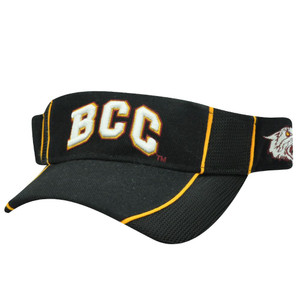 NCAA VISOR HAT CAP BETHUNE-COOKMAN WILDCATS BLACK NEW