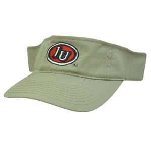 NCAA VISOR HAT CAP INDIANA HOOSIERS KHAKI NEW COTTON