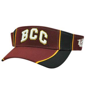 NCAA VISOR HAT CAP BETHUNE-COOKMAN WILDCATS MAROON NEW