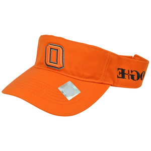 NCAA Oklahoma State Cowboys Visor Hat Adjustable Velcro Curved Bill Top of World