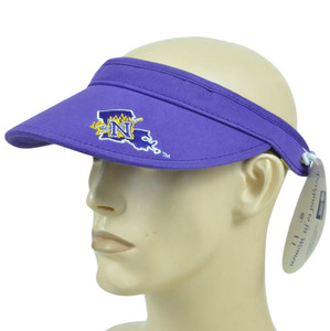 NCAA Northwestern State Demons Coil Visor Hat Adjustable Curved Bill Licensed