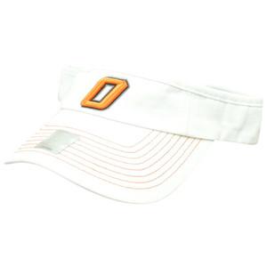 NCAA Oklahoma State Cowboys O- State Velcro Cotton Visor Curved Bill Hat OSU