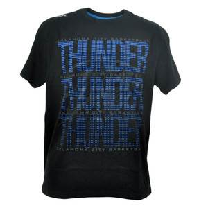 NBA Unk Oklahoma City Thunder Triple Marquee Dot Basketball Tshirt Men Tee