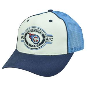 NFL OFFICIAL TENESSEE TITANS BLUE MESH NEW CAP HAT ADJ