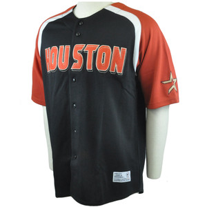 MLB Houston Astros Traditional Authentic Licensed Felt Baseball Jersey