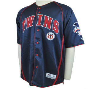 MLB Minnesota Twins Licensed American Baseball Jersey Shirt True Fan