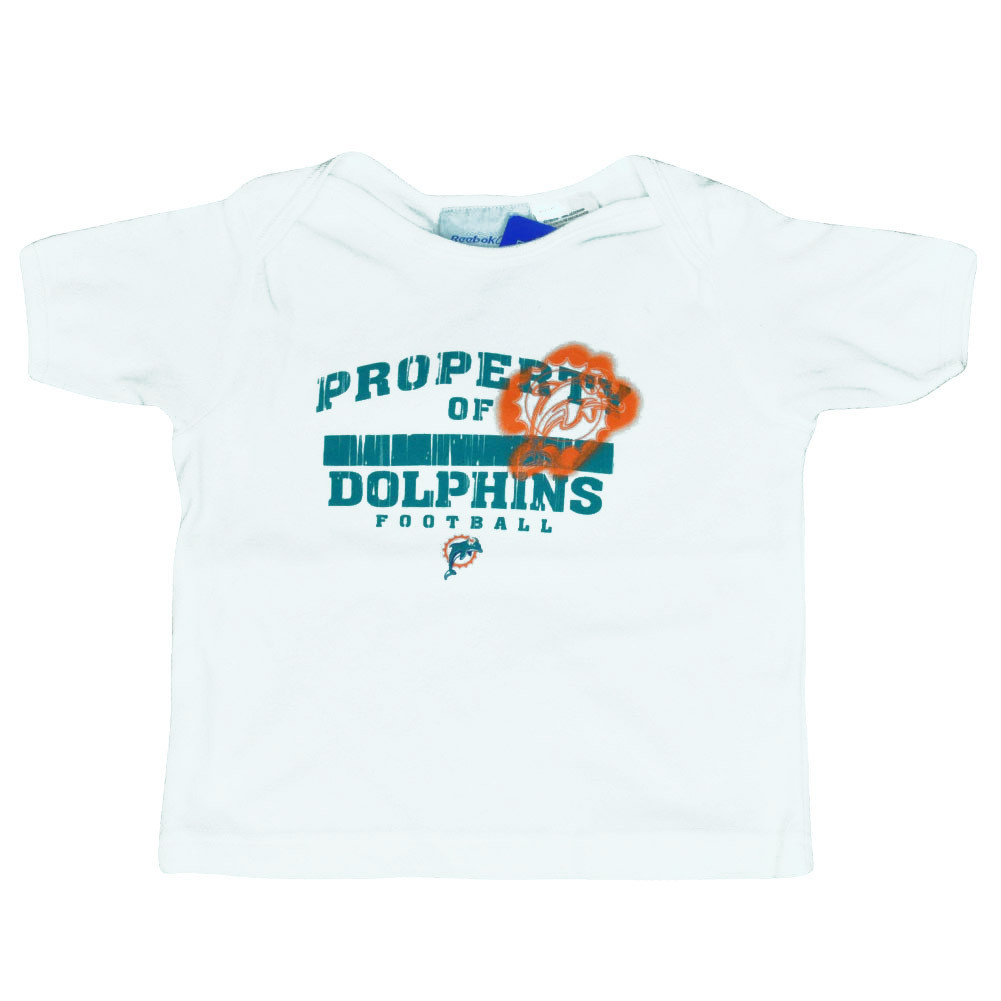 Nfl Reebok Miami Dolphins Prop Of Aqua Infant Tee Football Tshirt