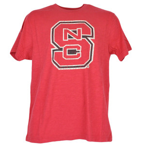 NCAA Colosseum North Carolina State Wolfpack Distressed Triblend Tshirt Tee
