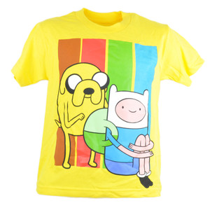 Adventure Time Jake And Finn Cartoon Network TV Series Youth Tshirt Tee