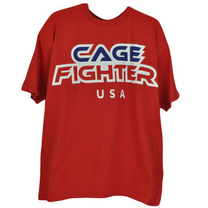 UFC United States America USA Cage Fighter Fighting Tshirt Tee Shirt Size