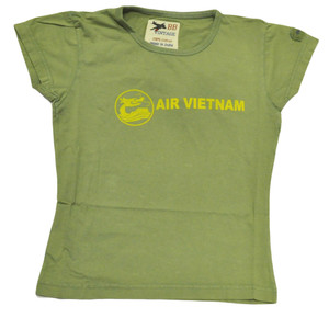 BB London Vintage Air Vietnam Shirt Distressed Tee Women Ladies Tshirt XSmall XS