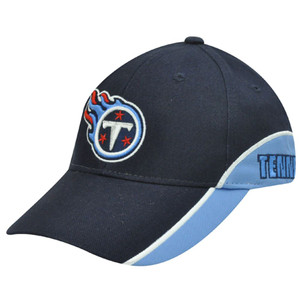 NFL Tennessee Titans Team Apparel Cotton Navy Light Blue Licensed Constructed