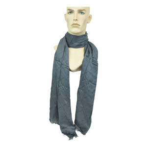 Sean John High End Clothing Label Fashion Winter Viscose Mens Soft Scarf Grey
