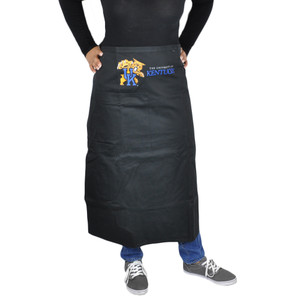 NCAA Kentucky Wildcats Black Apron Barbecue Accessory Tailgating Gear Cook Smock