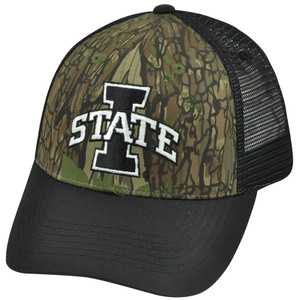 NCAA Iowa State Cyclones Freshman Trucker Camouflage Camo Mesh Snapback Hat Cap