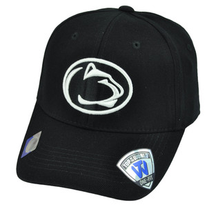 NCAA Top of the World Penn State Nittany Lions Blackout Flex Fit 1 Size Hat Cap