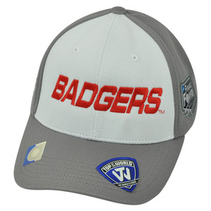 NCAA Wisconsin Badgers 2014 Men's Basketball Final Four Velcro Two Tone Hat Cap