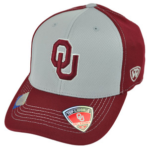 NCAA Top of the World Oklahoma Sooners Gline One Size Stretch Flex Fit Hat Cap