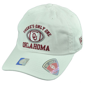 NCAA Top of the World Oklahoma Sooners Only One Garment Wash Sun Buckle Hat Cap