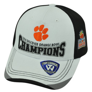 NCAA Top of the World Clemson Tigers 2014 Discover Orange Bowl Champions Hat Cap