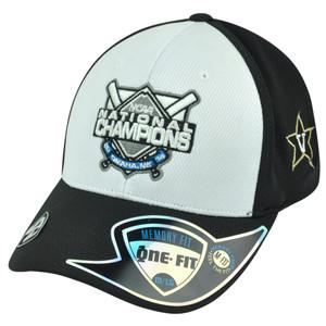 NCAA Vanderbilt Commodores 2014 National Baseball Champions Flex Fit Hat Cap