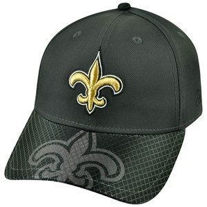 NFL New Era 3930 New Orleans Saints Flex Fit Small Medium Multicross Max Hat Cap