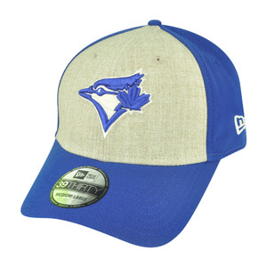 MLB New Era 39Thirty Toronto Blue Jays Team Fronted Flex Fit M/L Stretch Hat Cap