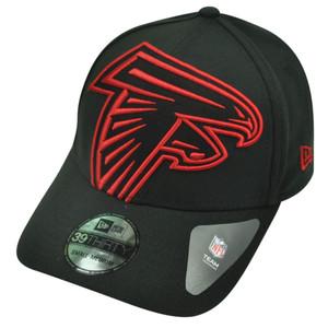 NFL New Era 3930 Atlanta Falcons Flex Fit Small Medium Magnifier Hat Cap Black