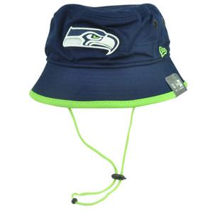 NFL New Era Seattle Seahawks Basic Action Sun Bucket Outdoor Fishing Hat Large