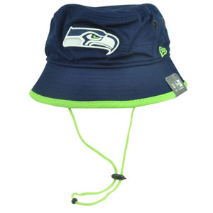 NFL New Era Seattle Seahawks Basic Action Sun Bucket Outdoor Crusher 2XLarge XXL