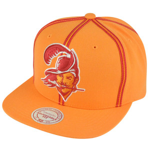 NFL Mitchell Ness Tampa Bay Buccaneers NJ31 Panel Outline Retro Snapback Hat Cap