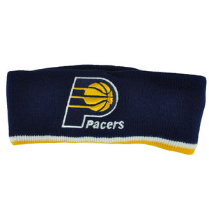 NBA Indiana Pacers Exercise Head Sweat Band Sports Basketball Fan Gear Navy Blue