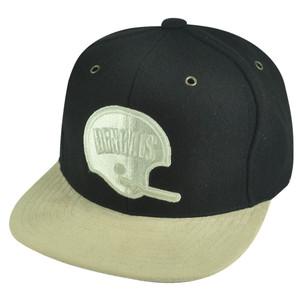 NFL Mitchell Ness Cincinnati Bengals NJ37 Micro Fiber Visor Strapback Hat Cap